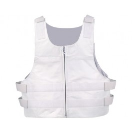 White Bulletproof Motorcycle Vest
