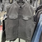 Size 43 Club Style Vest made from Soft Milled Leather - CLEARANCE