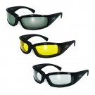 Stray Cat - Anti Fog UV400 Scratch Resistant Lenses with Neoprene Foam by Global Vision