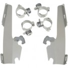 Memphis Shades Batwing Fairing Trigger-Lock Mount Kit (Chrome or Black)